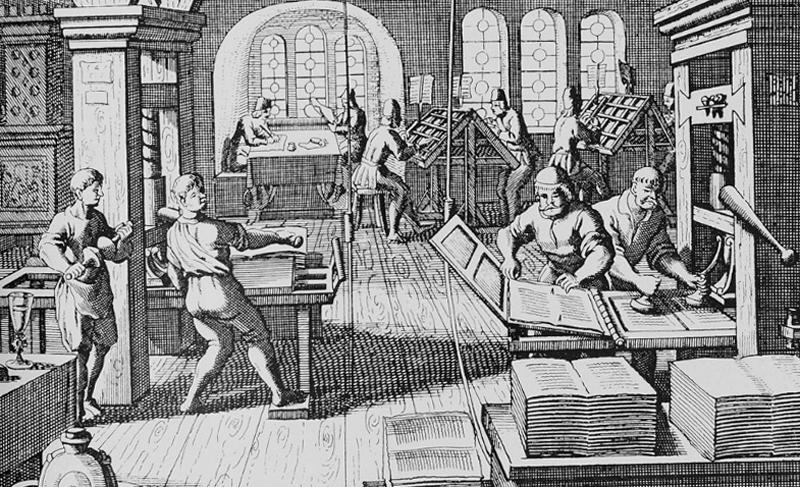 Первое книгопечатание