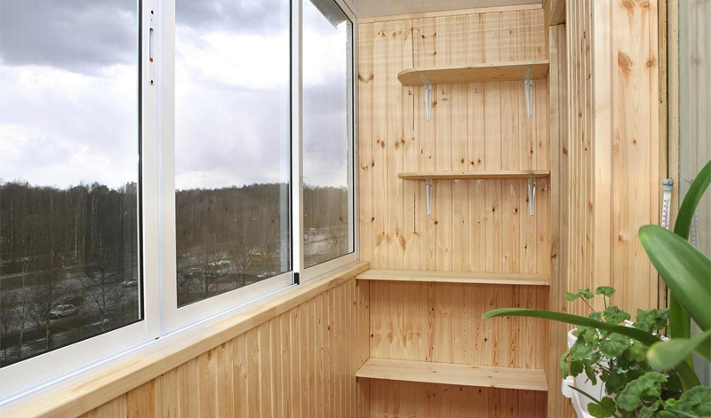 Метраж балконов и лоджий