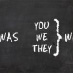 Разница между глаголами was и were