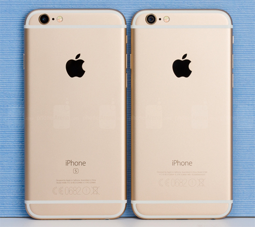 Iphone 6s и Iphone 6