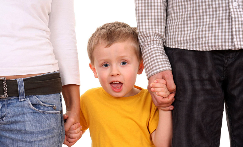 Ребенок с новыми родителями
