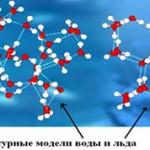 Чем отличаются молекулы воды и молекулы льда?