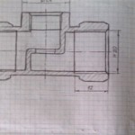 Чем отличается эскиз от рабочего чертежа детали