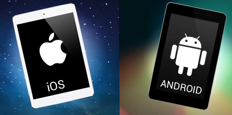 IPad и планшет на Android