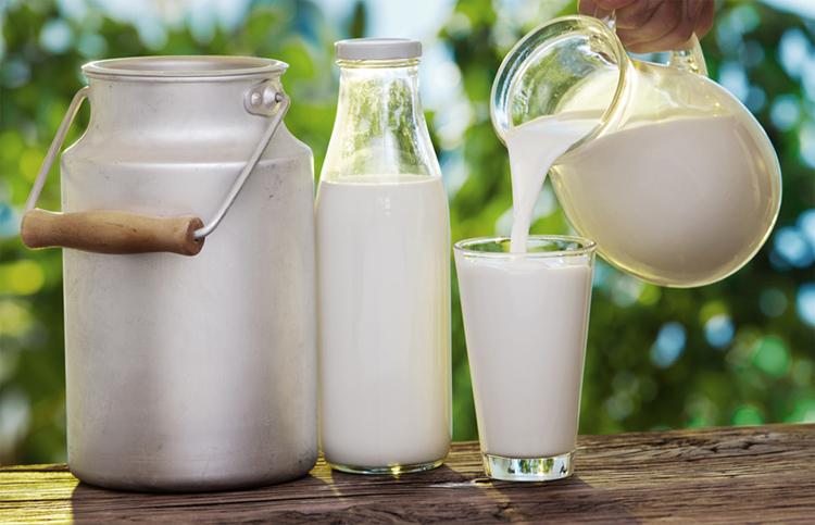 Обычное молоко