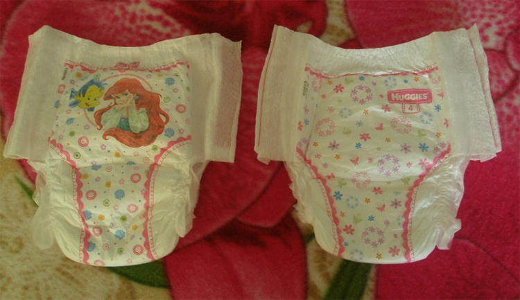 Вредны ли памперсы для девочек