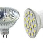 Чем светодиодная лампа отличается от галогенной и что выбрать