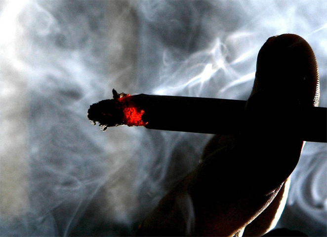Вред дыма