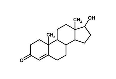 Молекула тестостерона