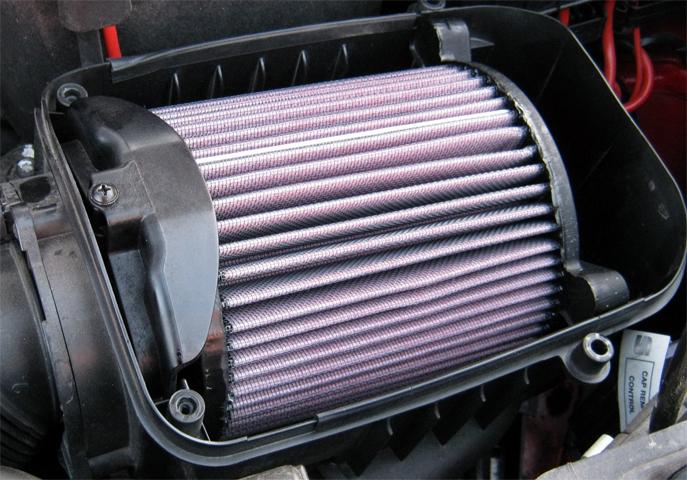 Воздушный фильтр в виде цилиндра