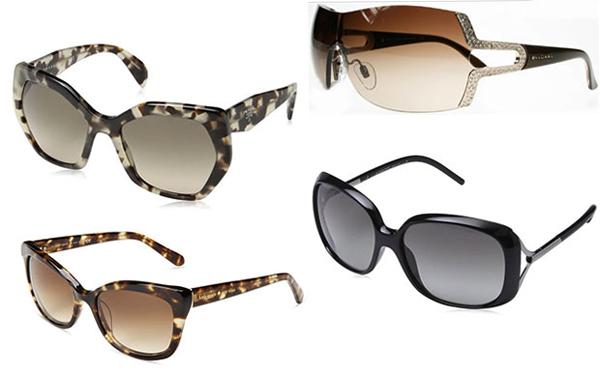 Разные женские очки