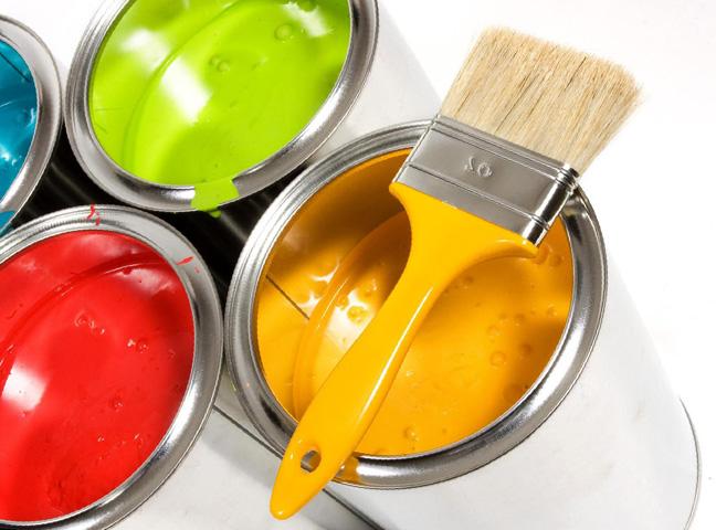 Разноцветная эмаль