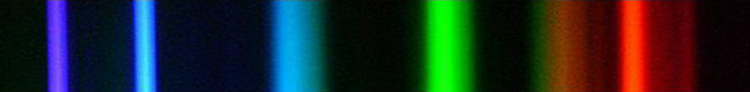 Спектр линейчатый