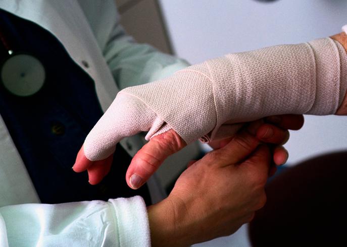 Травматолог за работой
