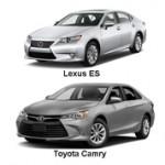 Чем отличается Toyota Camry от Lexus ES