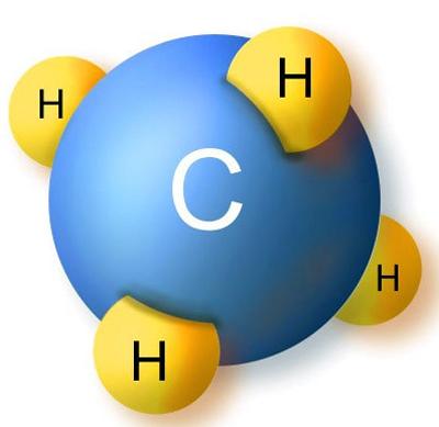 Молекула газа
