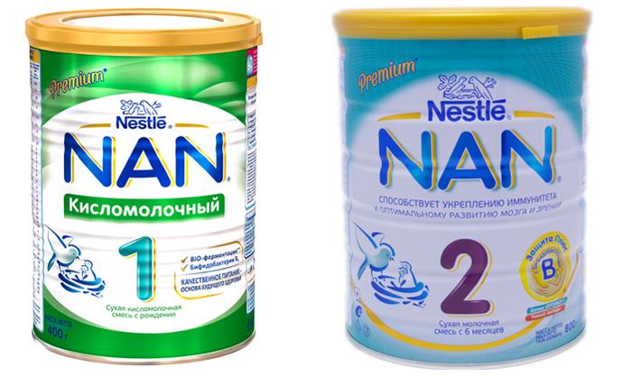 Nan 1 и Nan 2