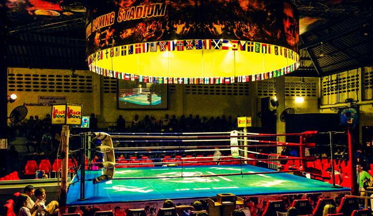 Ринг тайского бокса