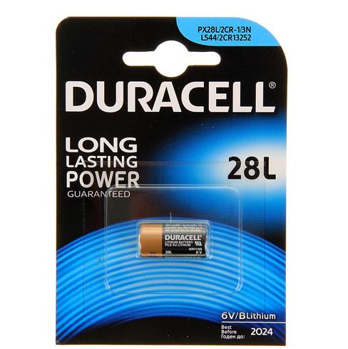 Алкалиновая батарейка Duracell