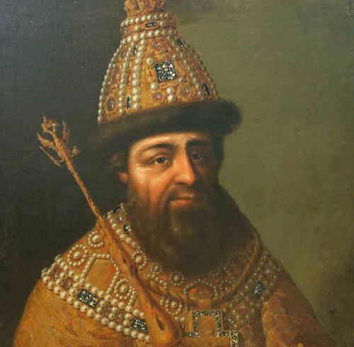 Царь Алексей Михайлович Парсуна