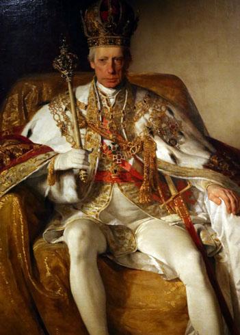 Император Франц второй Габсбург