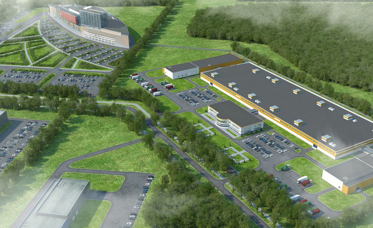 Новый индустриальный парк