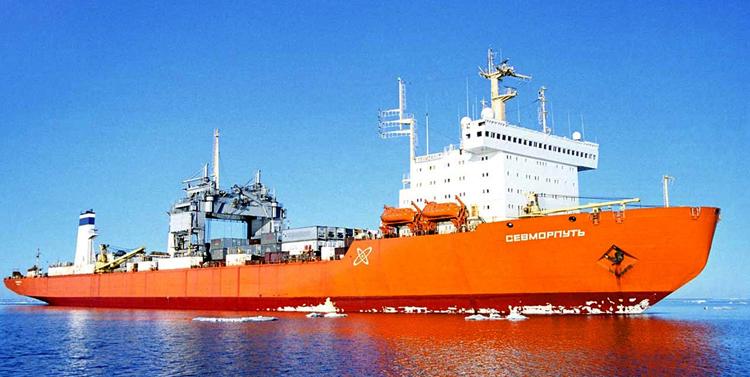 Ледокольно-транспортное судно
