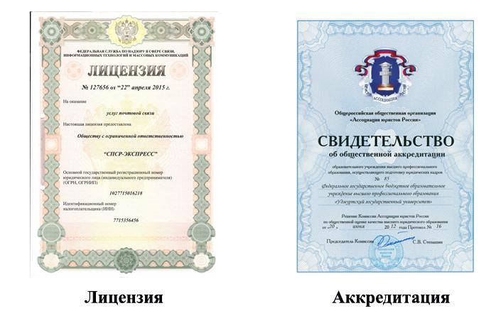 Лицензирование, аттестация и аккредитация образовательного учреждения