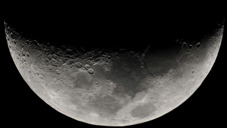 Луна вблизи