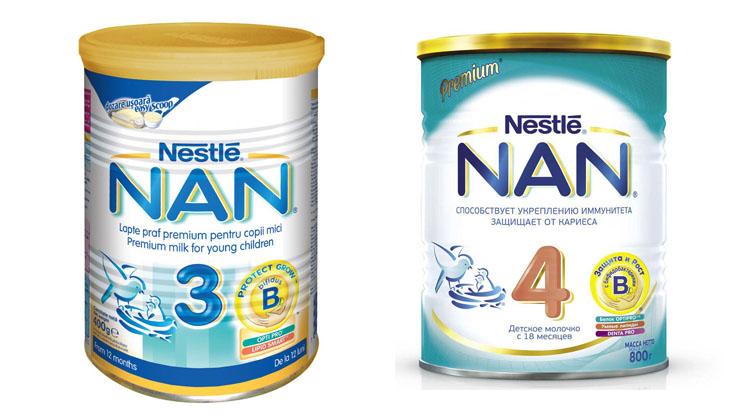 Nan 3 и Nan 4
