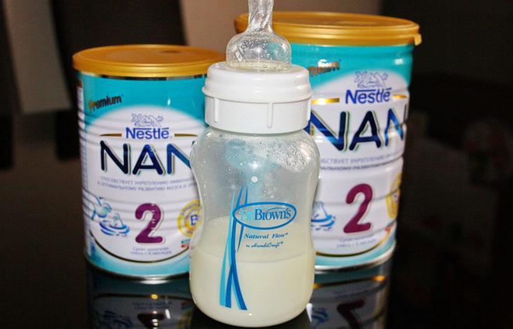 Молочная смесь Nan 2