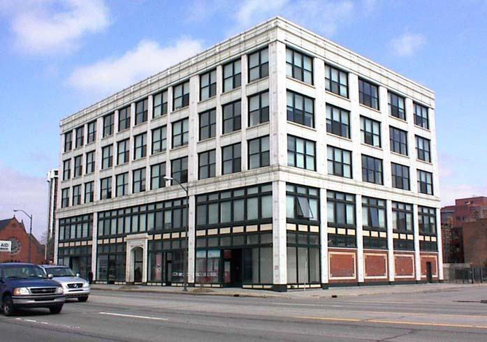 Новое здание