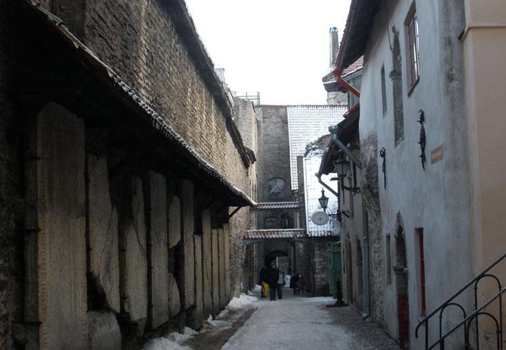 Переулок в Таллине