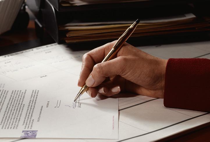 Подписание судебного решения