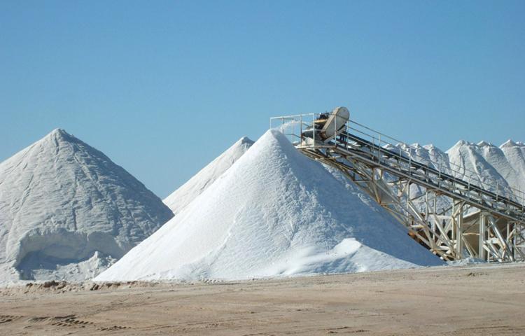 Добыча поваренной соли