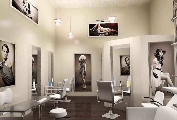Современный салон красоты
