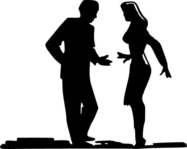 Мужчина со своей женщиной
