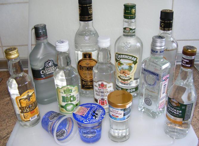 Много водки