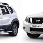 Renault Duster и Nissan Terrano — чем они отличаются