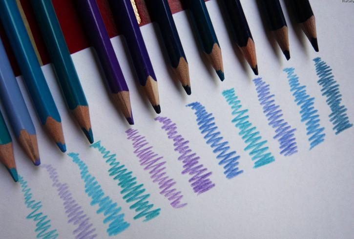 Цветные каарндаши