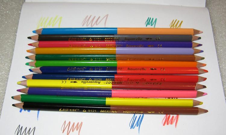 Акварельные цветные карандаши