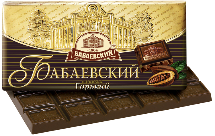 Бабаевский - горький шоколад