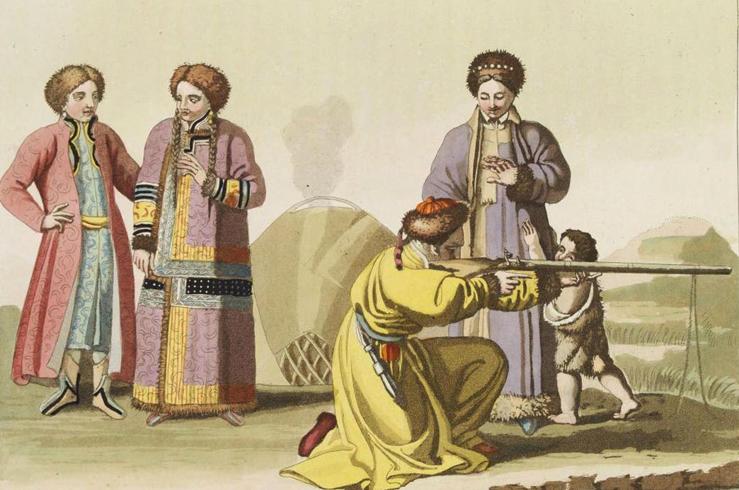 Древние татары
