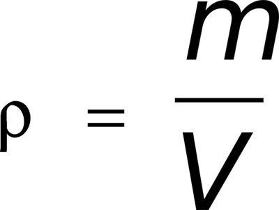 Формула плотности