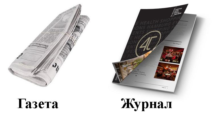 Газета и журнал