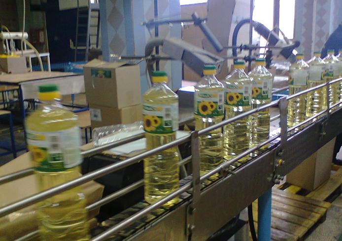 Производство подсолнечного масла