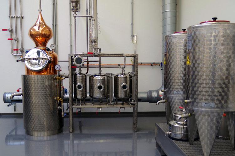Производство водки