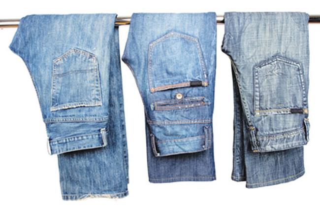 Обычные джинсы