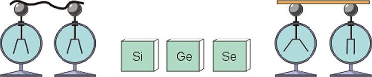 Полупроводники: кремний, германий, селен