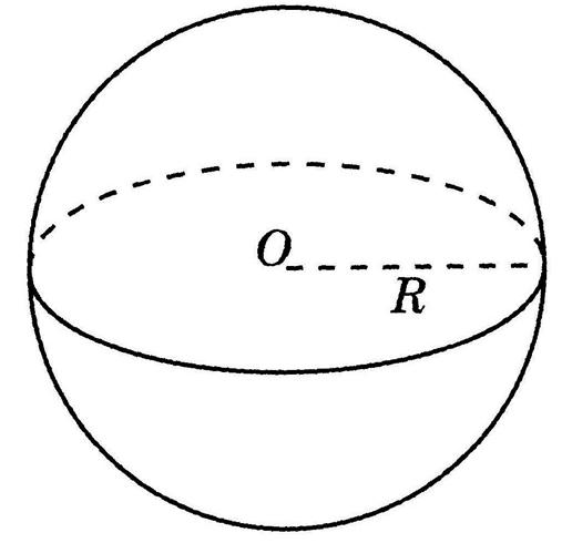 Радиус и диаметр шара